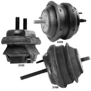 Engine Mounts & Auto Trans Mount 3PCS for Cadillac DTS, Buick Lucerne 11-06 4.6L