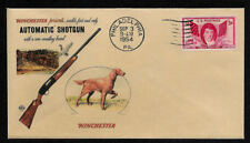 1954 Winchester Automatic Shotgun Featured on Collector's Envelope *OP161