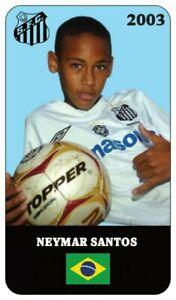 2003 Santos FC rookie NEYMAR JR.