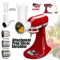 Muti-functional Fresh Prep Slicer/Shredder Attachment For KitchenAid Stand Mixer