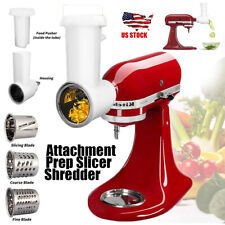 Muti-functional Fresh Prep Slicer/Shredder Attachment For KitchenAid Stand Mixer