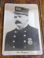 Ben Thompson City Marshal of Austin TX Texas Old West Lawman Photo Photograph
