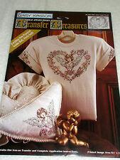 Vintage DAISY KINGDOM Transfer Treasures Cherubs Unopened Angel Heart