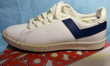 Vintage Late 70s Pony Concord Tennis/Athletic Shoes, Size 6, White/Royal Blue
