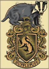 Harry Potter House of Hufflepuff Alternate Logo Crest Refrigerator Magnet UNUSED