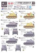 Star Decals 1/35 German Sd.Kfz. 132 MARDER II 7.62cm PaK 36 PANZERJAGER