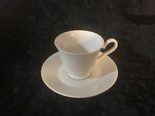 Ascott China Footed Cups And Saucers -Set Of 4