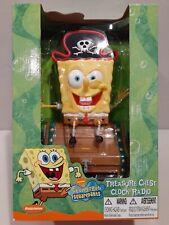 Spongebob Squarepants Treasure Chest Clock Radio / Absolutely Brand New