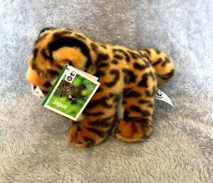"WWF Jaguar Tag 7"" Soft Toy"