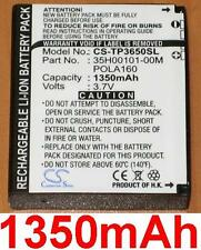 Batterie 1350mAh type 35H00101-00M POLA160 Pour O2 HTC Touch Find