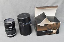 Olympus OM Zuiko 135mm f/2.8 Lens with Caps & Lens Case