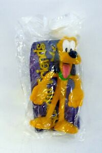 KELLOGG'S BENDIN' FRIENDS PLUTO Walt Disney Action Figure MIP 2004