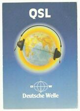 Radio Deutche Welle, Germany QSL card 1988