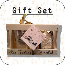 """""""trasporto Matrimonio"""" Cioccolato Fonduta + MINI MARSHMALLOW Gift Set OMAGGIO WC2"""