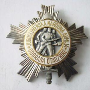 Jugoslawien Kommunistischer Orden Jugoslawische Armee JNA 3. Klasse