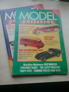 Model Collector Magazines August/September and October/November 1988