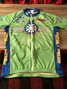 St. Louis Cycling Club Jersey Size Small S