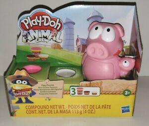 HASBRO PLAY-DOH BRAND ANIMAL CREW PIG PIGGY PLAYTIME FARM SET MODELING CLAY