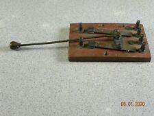 Antique Telephone Switch United Telephone Co. Kansas Morse Code Frankenstein