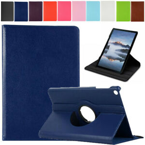 """Rotating Stand Leather Case Flip Cover For Samsung Galaxy Tab A7 10.4"""" T500 T505"""