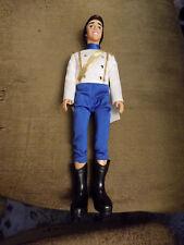 Vtg Disney The Little Mermaid Wedding PRINCE ERIC Barbie Doll Ken 1980s Dressed
