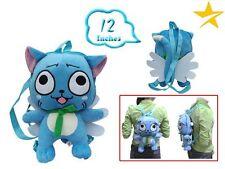 Mochila de peluche gato Happy Fairy Tail 30cm