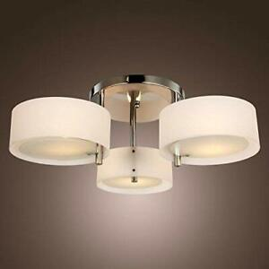 Modern Acrylic Flush Chandelier Ceiling Lights for Living Room