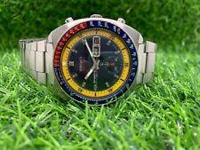 Vintage Seiko 5 Sports 6139-8029 Speedtimer Chrono Automatic Mens Watch