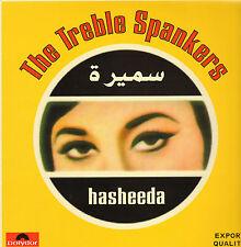 TREBLE SPANKERS - Hasheeda (1995 NEDERPOP/SURF ROCK VINYL LP)