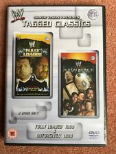 WWE Tagged Classics Fully Loaded 1999 & Unforgiven 1999 DVD 99 WWF Rare