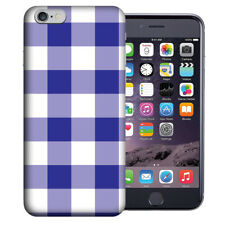 MUNDAZE Apple iPhone 6 Design Case - Blue White Plaid Cover