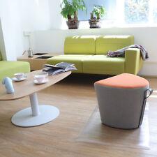 Büromöbel Bodenschutzmatte Bürostuhlunterlage Bodenmatte Stuhlunterlage Transparent Klar