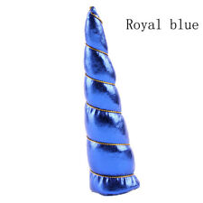 Girl Unicorn Hornhalloween Headwear Kids Bonus DIY Headband Hair Decorative Royal Blue