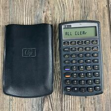 HP 10bII Financial Calculator 10 BII With Case - Fast Free Shipping
