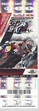 2008 RED BULL INDIANAPOLIS MOTORCYCLE RACE PAGODA TICKET - INDY 500 TRACK