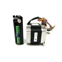 4.5NM NEMA34 2 phase 86HS45 Hybrid Step Motor + DM860 Stepper Drive Kit For CNC
