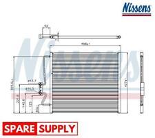 Nissens 940146 Condenser air conditioning