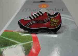 Manchester United Man Utd Football Boot Pin Badge