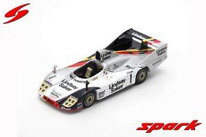 SG507 Spark: 1/43 Porsche 936/80 #1 3rd 9H Kyalami 1982 Bob Wollek - G. Francia