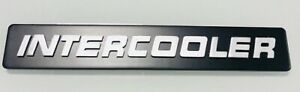 Scania FrontIntercooler Badge - Classic Style