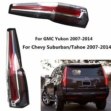 LED Tail Lights Rear For Chevy Chevrolet Suburban Tahoe GMC Yukon 2007-2014