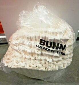 "Bunn Large Coffee 100+ Filters 10"" Diameter Authentic Replacements Open Box NIP"