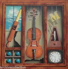 James Carter Music Box #2 (Violin) Original Lithograph