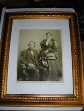 1870's Photo Charles and Maria Russell Jehovah Watchtower IBSA