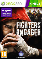 Fighters Uncaged Kinect Game XBox 360 *in Excellent Condition*