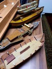 4 Schiffsmodelle unfertig