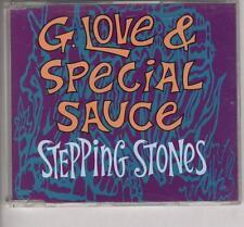 G.LOVE & SPECIAL SAUCE Stepping Stones RADIO EDIT PROMO CD SINGLE