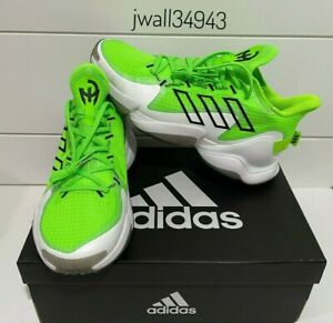 Authentic Adidas Patrick Mahomes 1 Impact FLX Shoes 1.0 Solar Green GX7674 New