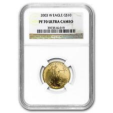 2003-W 1/4 oz Proof Gold American Eagle PF-70 NGC - SKU #19346