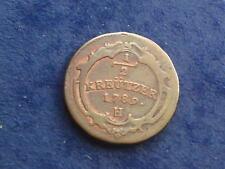 """1/2 Kreuzer 1789 H Franz II.  """" selten """" W/18/449"""